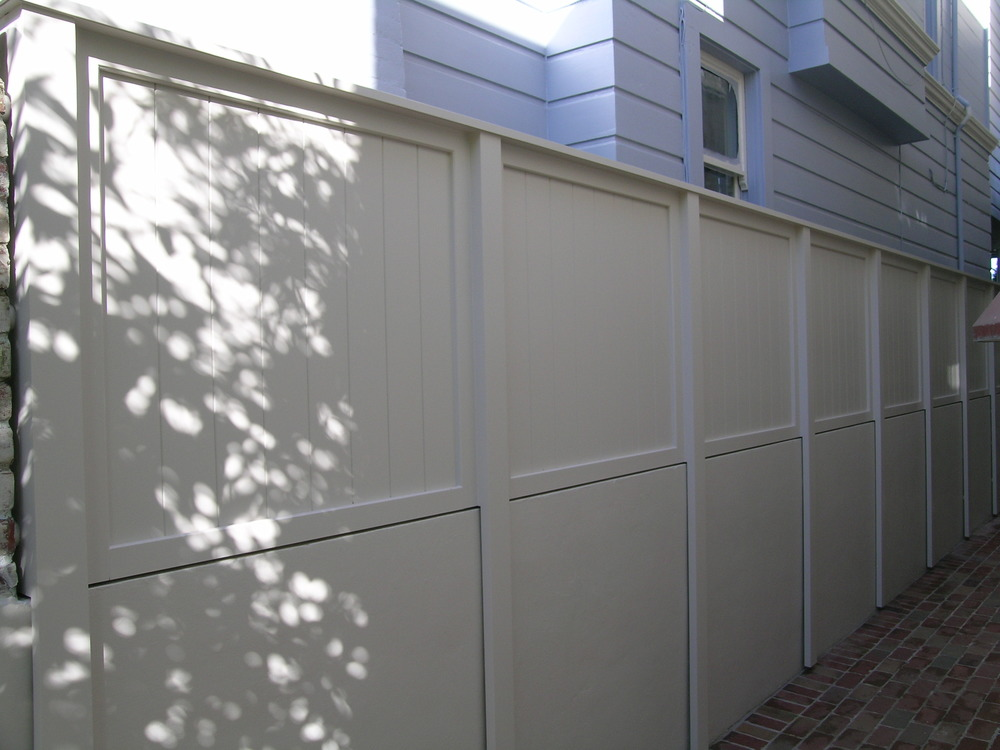 Custom fence-finished