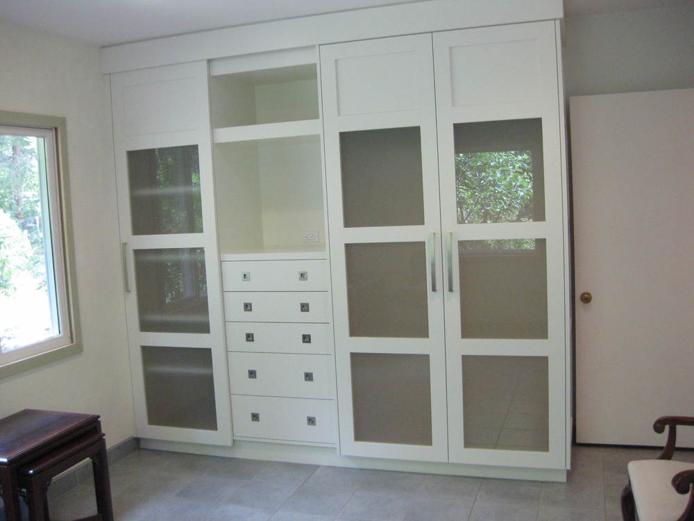 Painted closet, San Leandro, CA