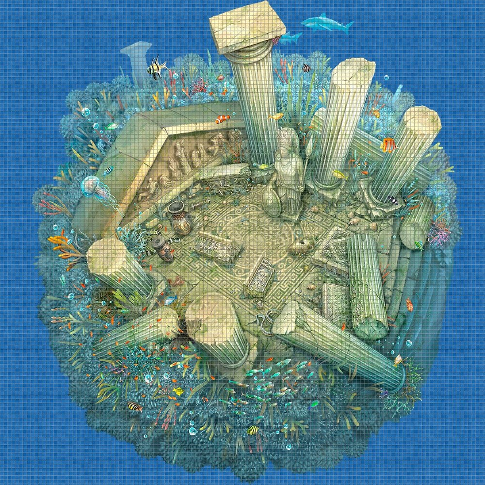 Roman-Ruins-Digital-Print-Mosaic-Ezarri.jpg