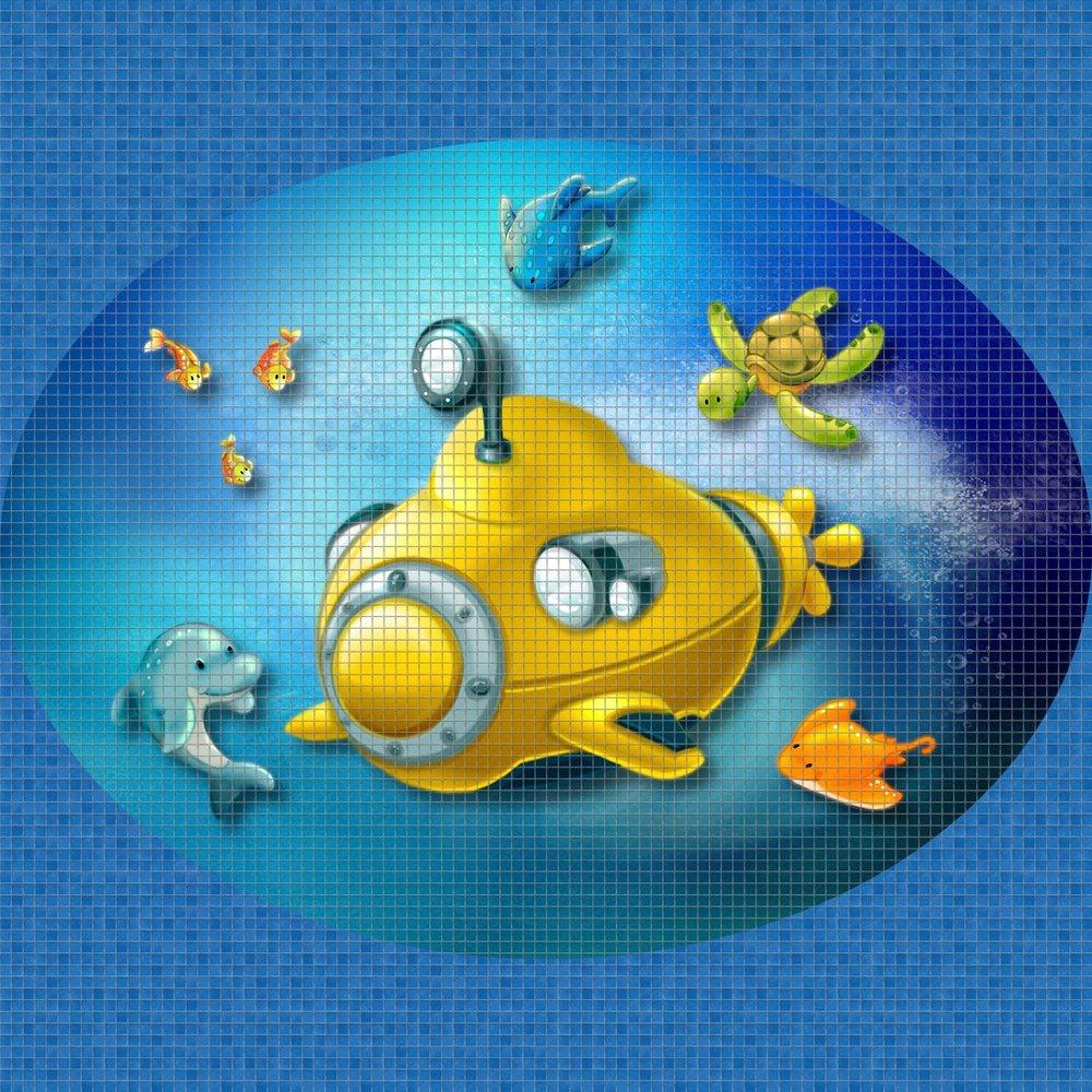 Yellow-Submarine-Digital-Print-Mosaic-Ezarri.jpg