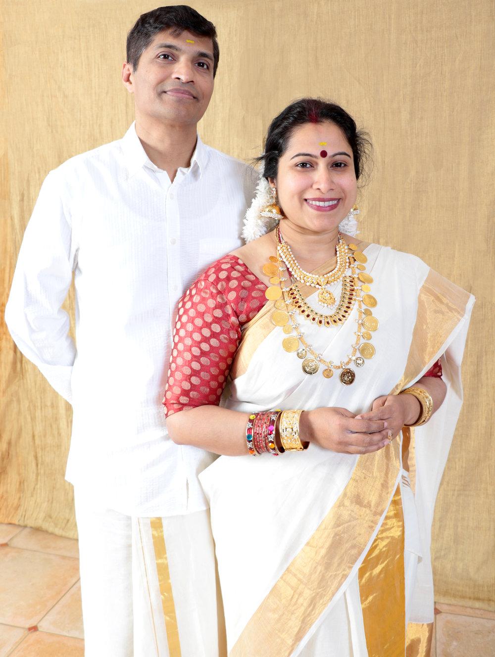 Kerala Hindu Couple
