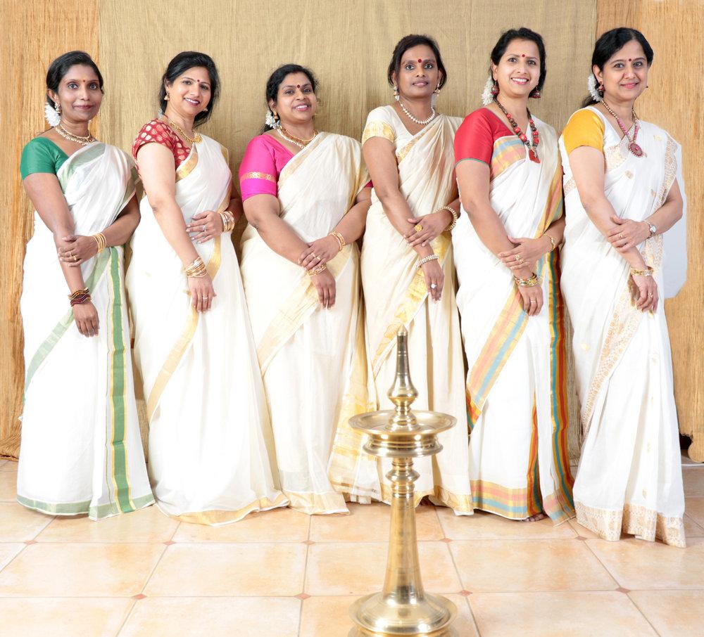 Traditional Kerala Ladies
