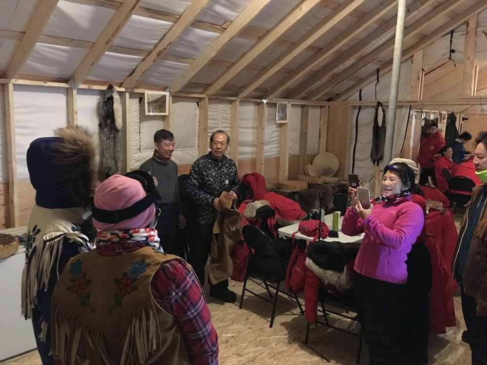 - With hot tea and bannock refreshments, our cozy new facility offers guests the perfect evening of Aurora viewing paired with an authentic cultural experience.