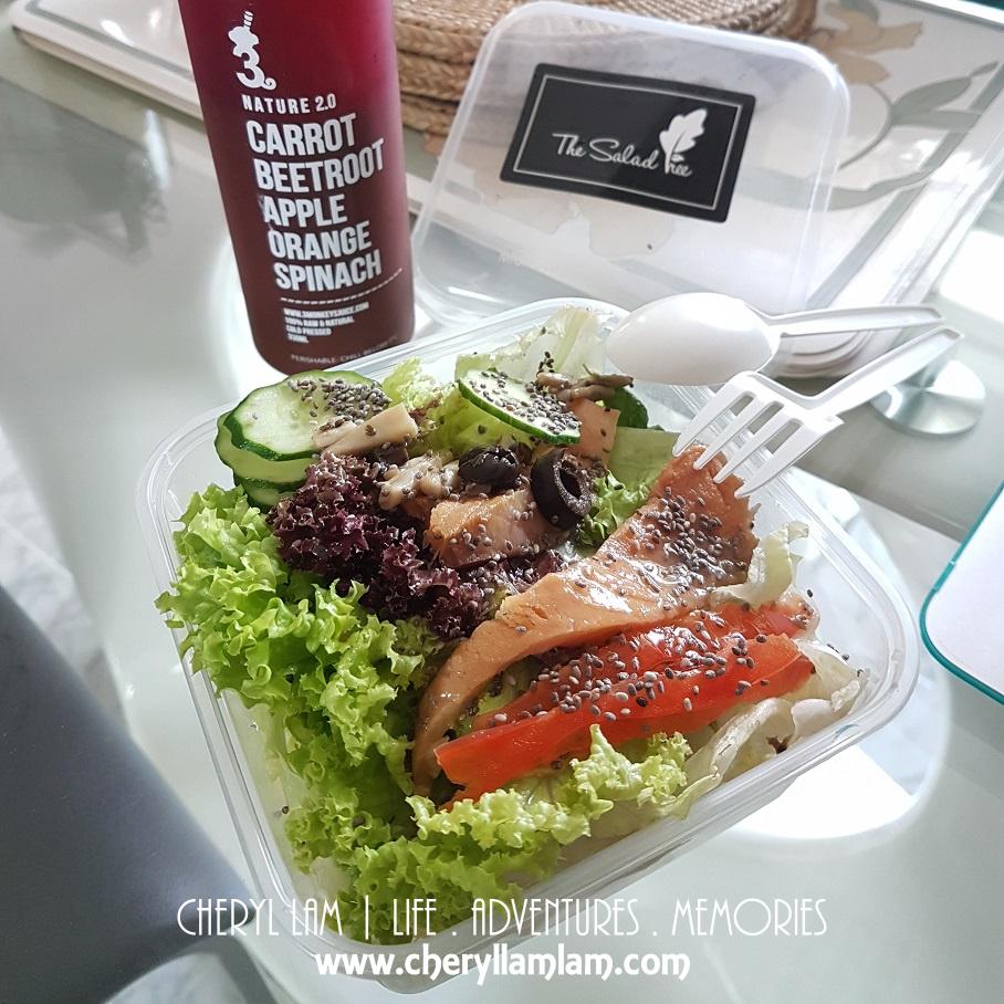 Salmon the Omega Boost (Salad)