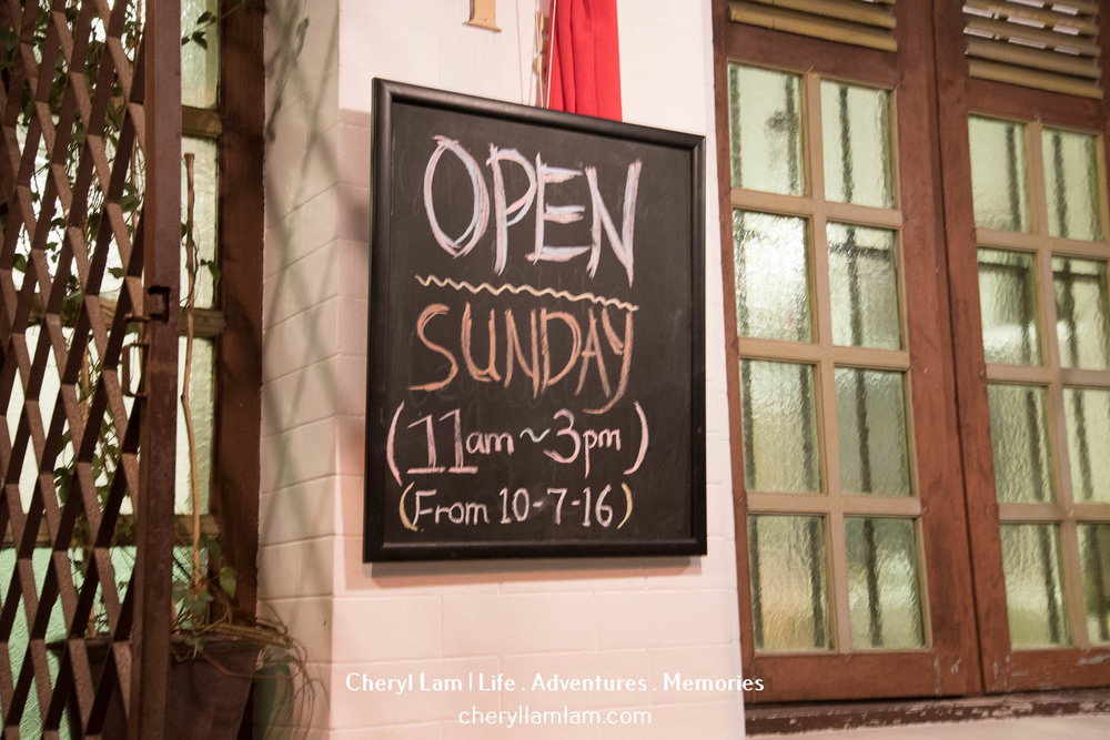They are now open for Sunday lunch!