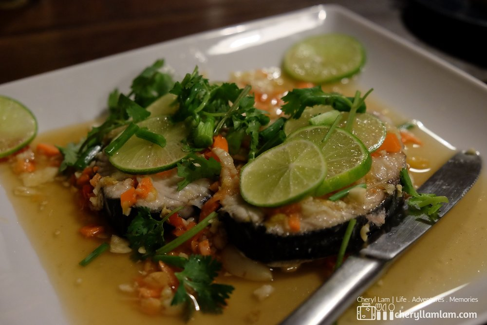 Lemon Steamed Fish