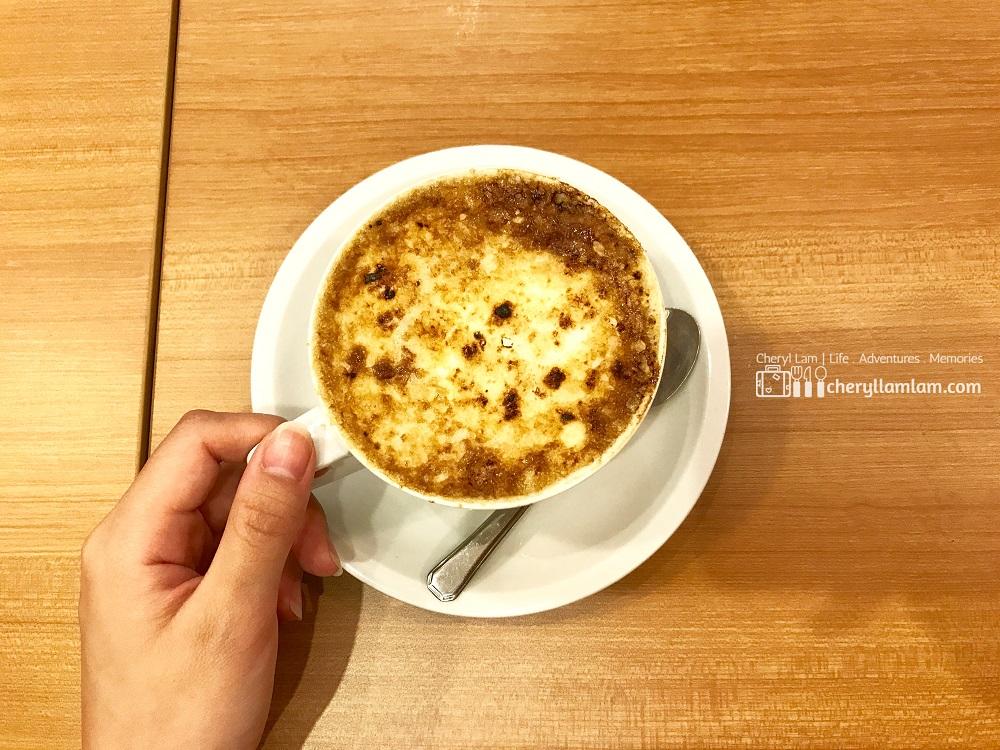 Creme Brulee Latte - MYR 15.90