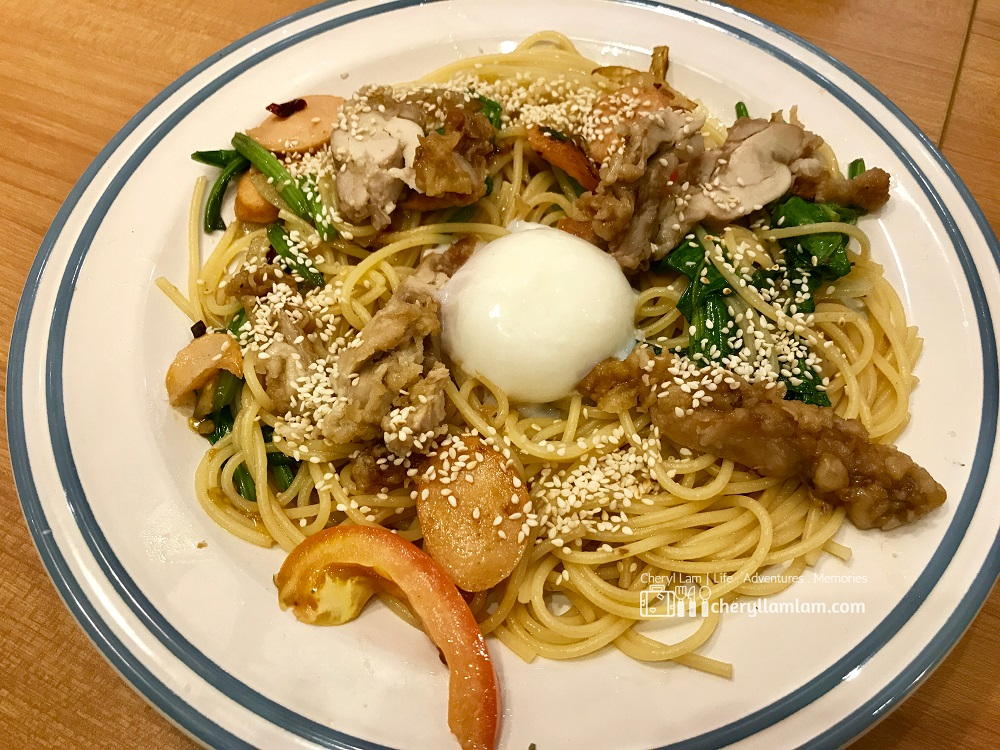 Teriyaki Chicken Spaghetti - MYR 15.90