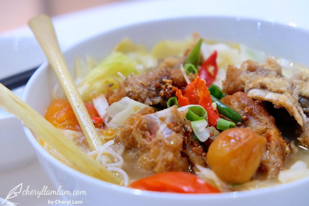 Yuan Wei Restaurant Penang spicy and sour bihun soup
