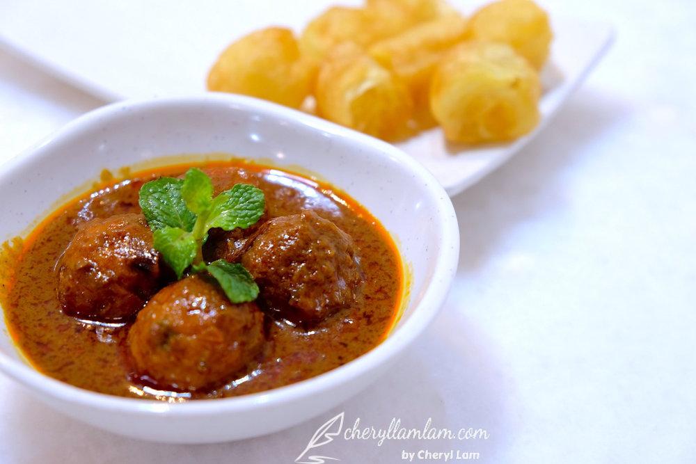 Yuan Wei Restaurant Penang curry fish ball
