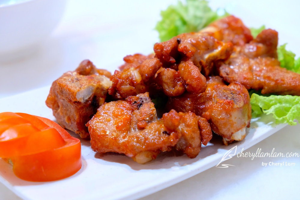 Yuan Wei Restaurant Penang deep fried ribs