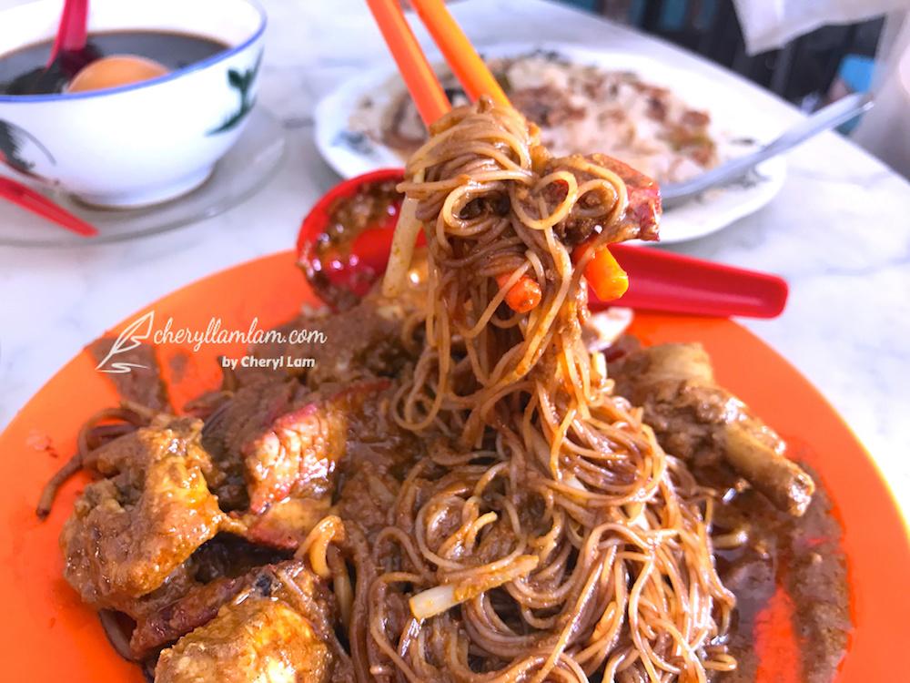 Yee Fatt Dry Curry Noodles, Ipoh
