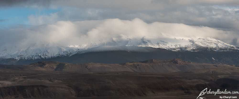 Hekla volcano Landmannalaugar Iceland