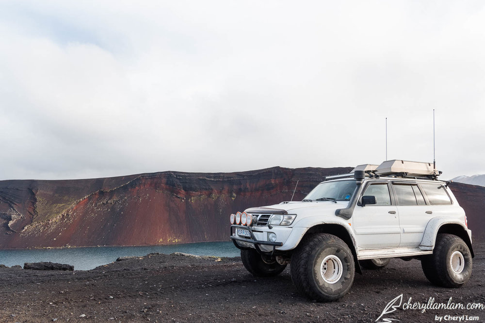 Ljotipollur Landmannalaugar Iceland