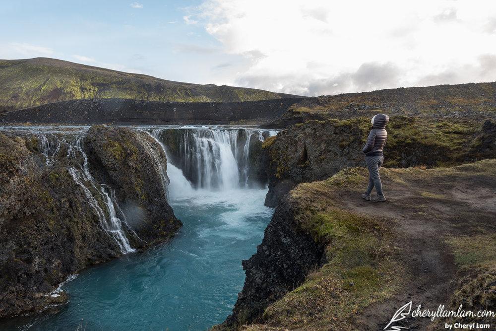 Sigoldufoss Landmannalaugar Iceland