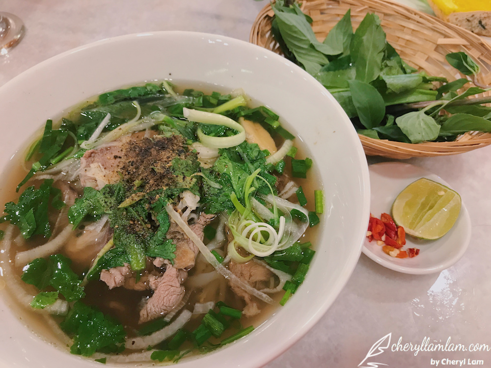 Beef Noodle Soup : Pho Special - MYR 16.90