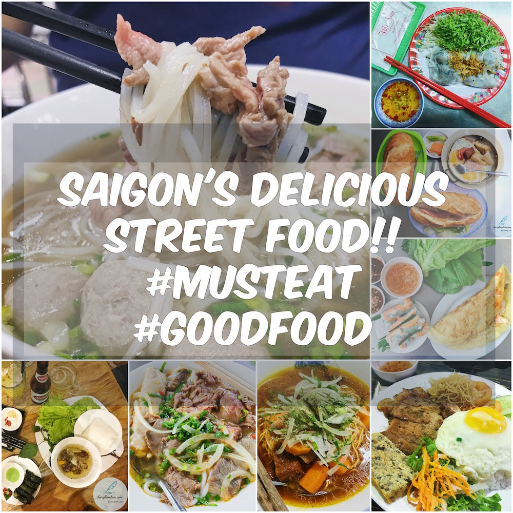 8 Street Foods in Ho Chi Minh, Vietnam & Where to eat them