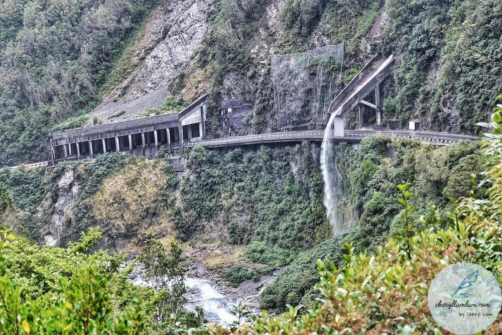 Arthur's Pass Otira Viaduct Lookout NZ