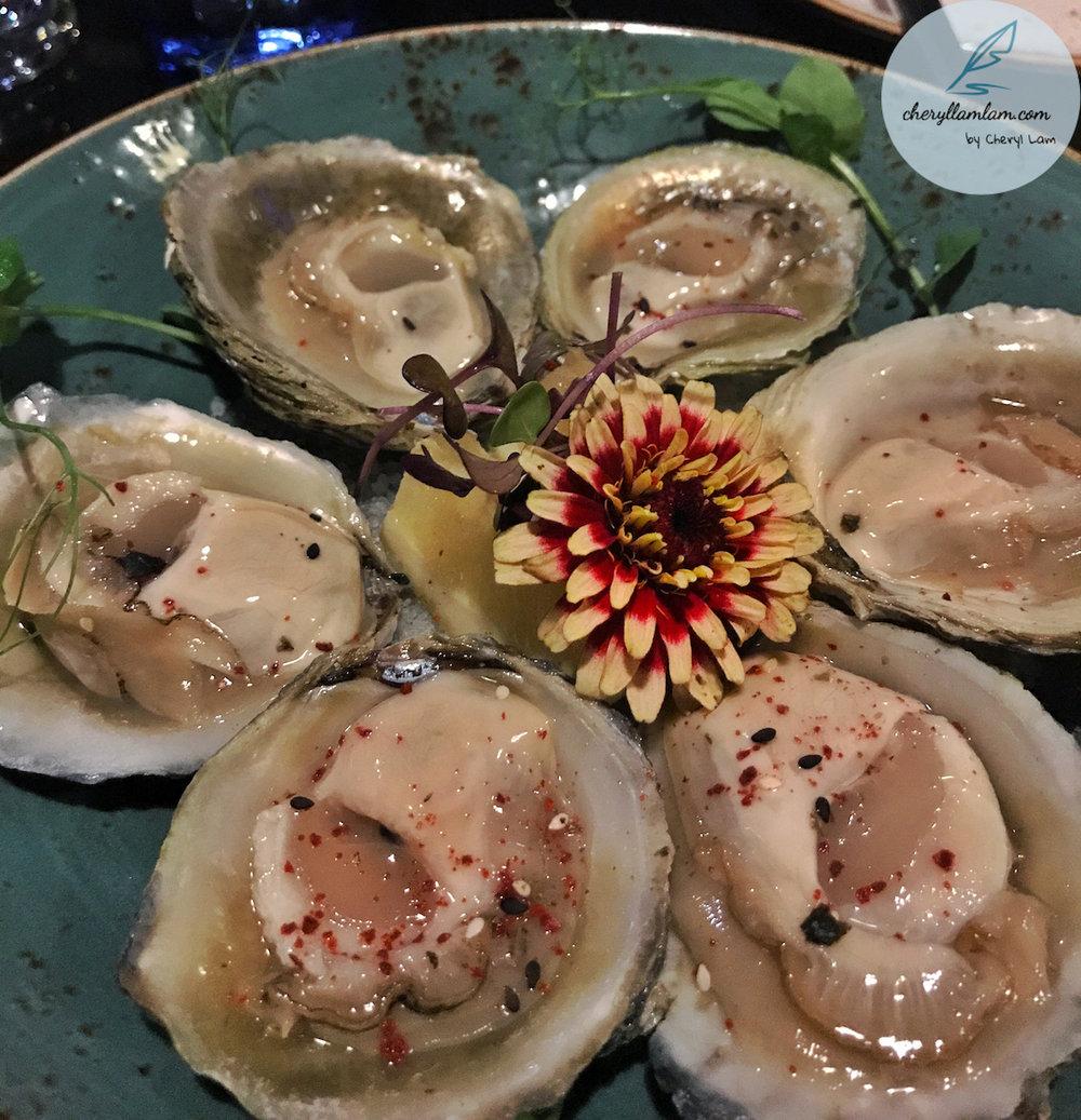 Seasonal Bluff Oysters