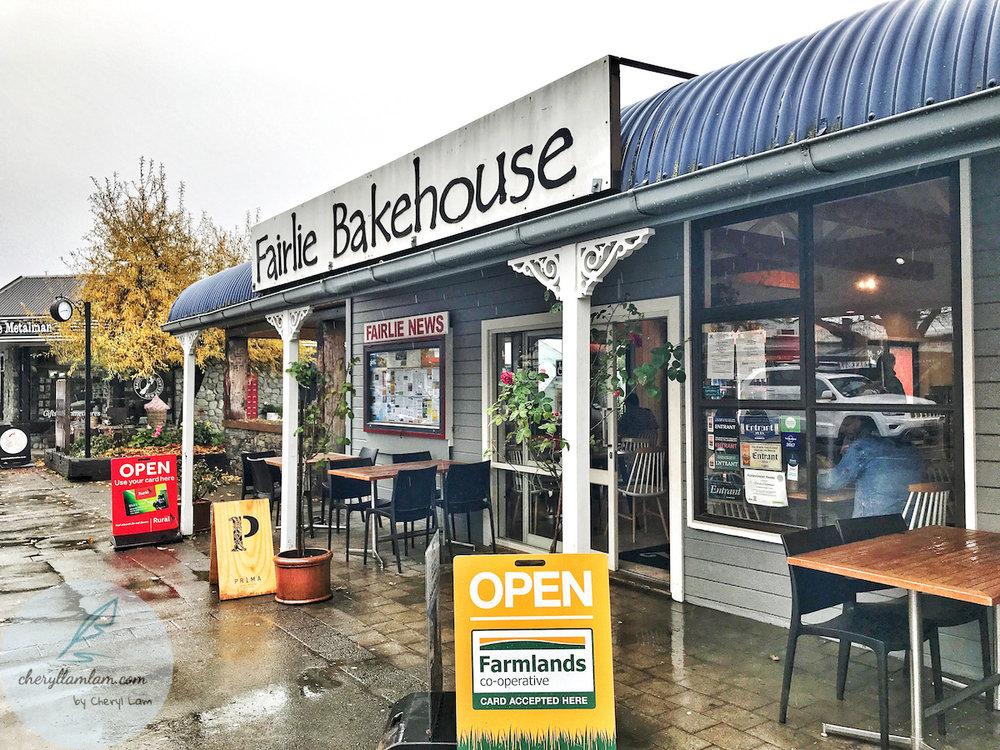 Fairlie Bakehouse New Zealand