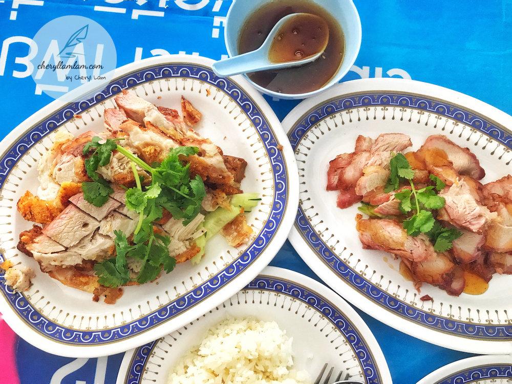 roast pork rice hatyai