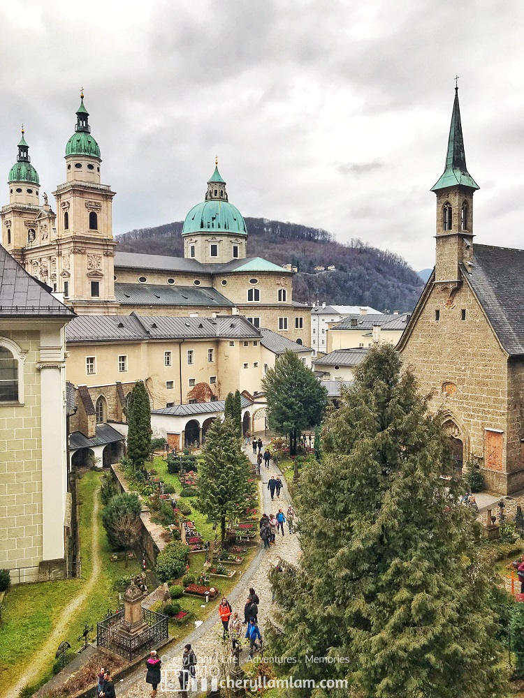 Petersfriedhof salzburg austria