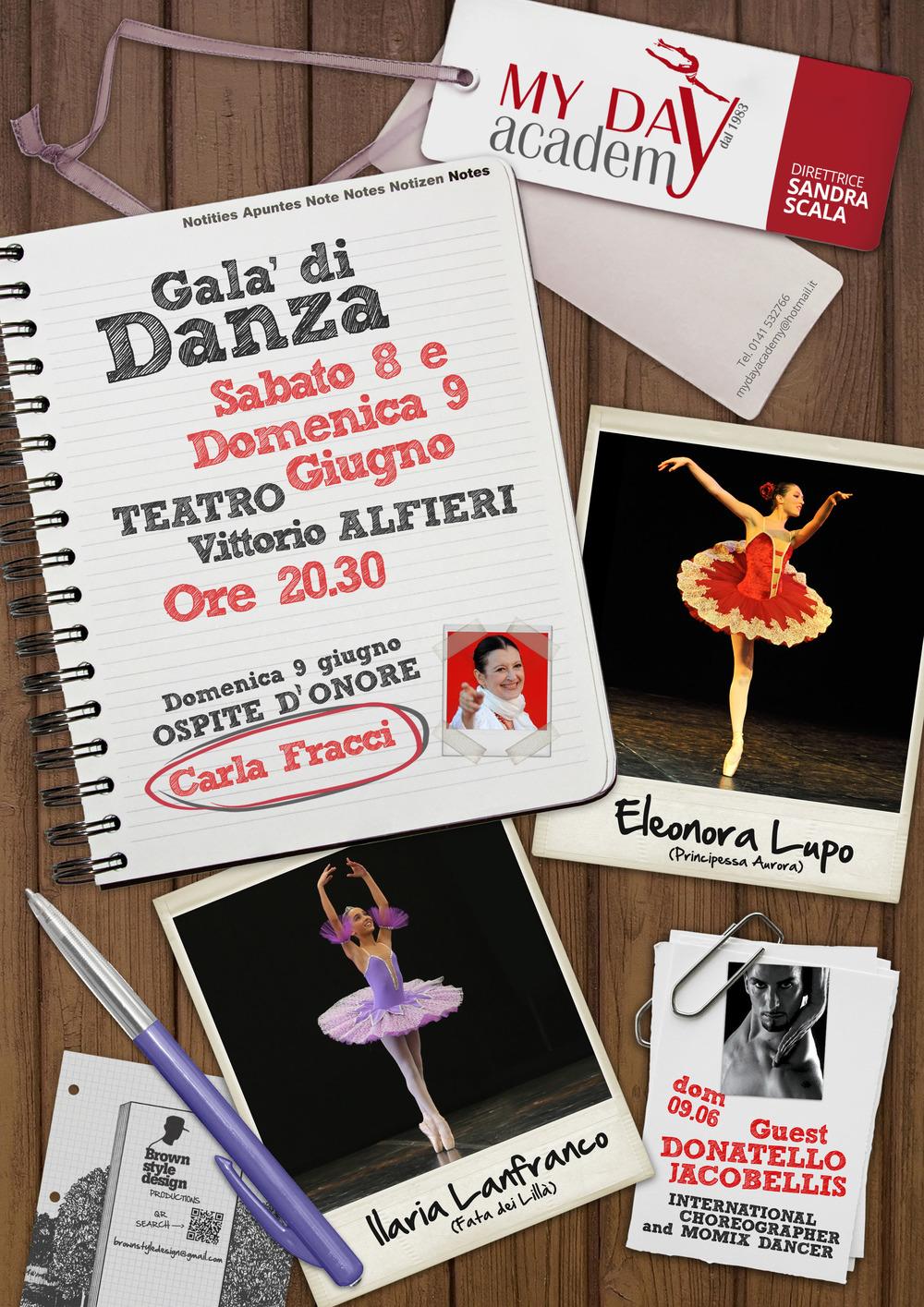 Locandina Galà di Danza - Teatro Alfieri