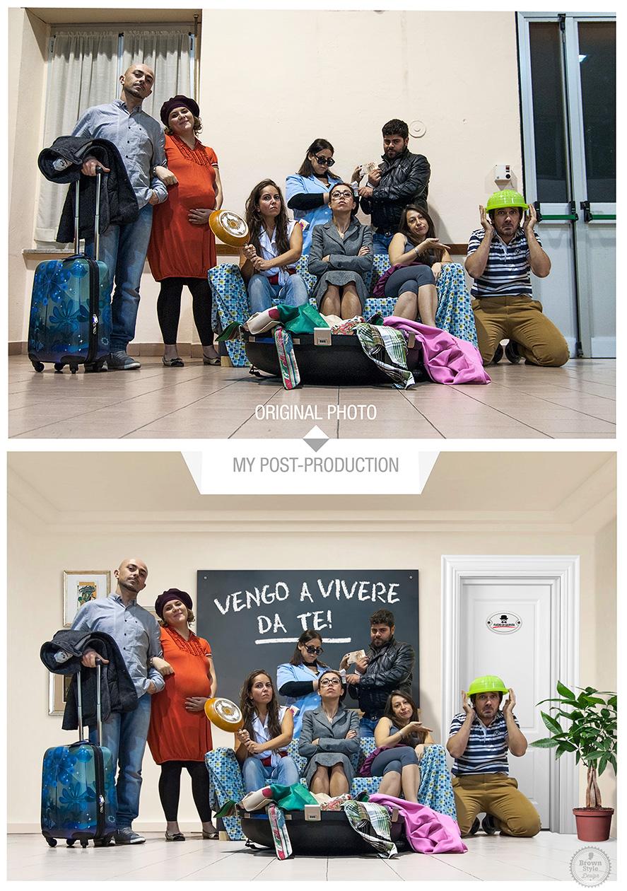 Photoshop post-produzione