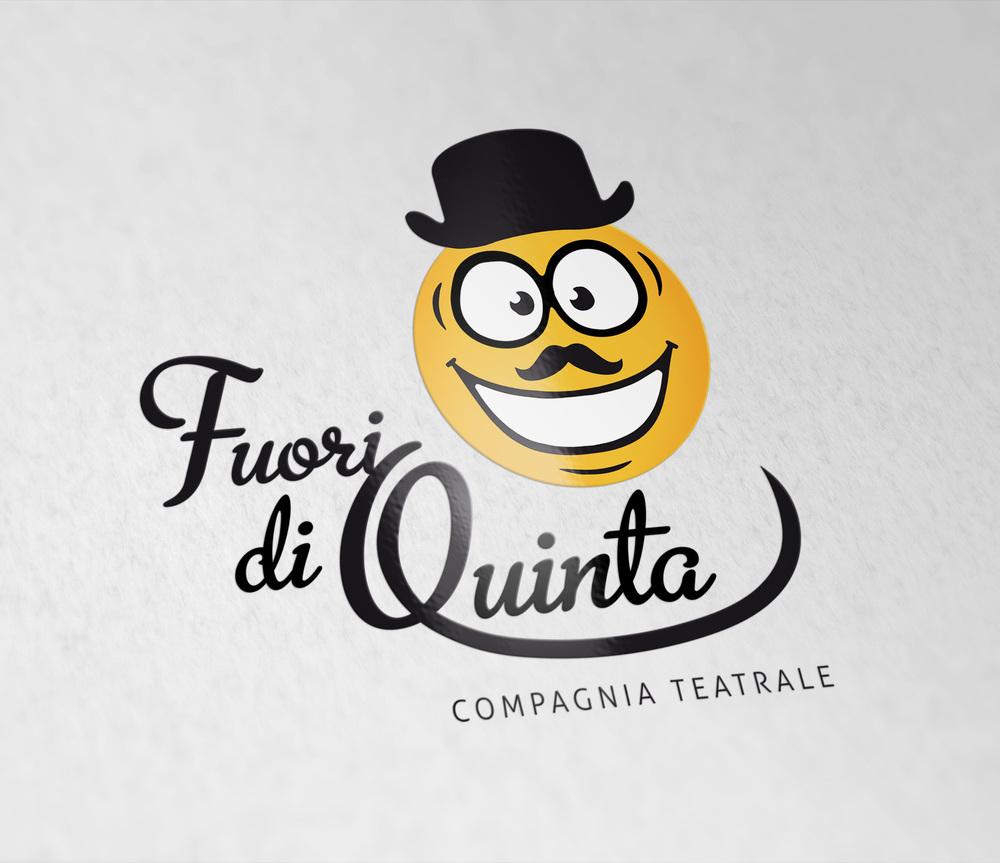 Fuori di Quinta Logo design