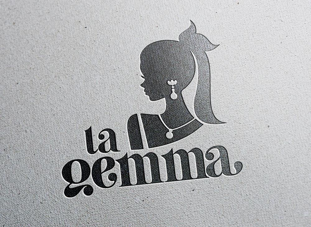 Logo Design La Gemma Oreficeria