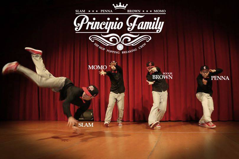 Principio Family on Stage