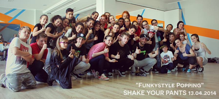 Lezione Funky Style - Popping