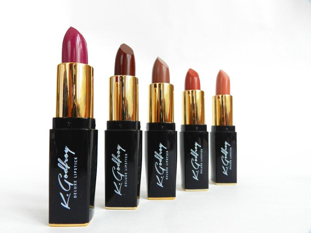 K.Godfroy matte lipstick collection