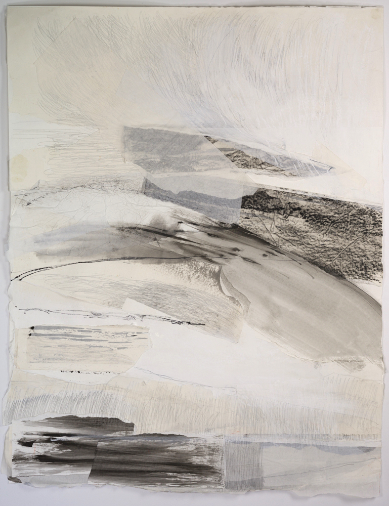 Calm Headland (Collage),  Mixed Media, 94 x 123 cm, £1380  Enquires:   olia@luminairearts.co.uk