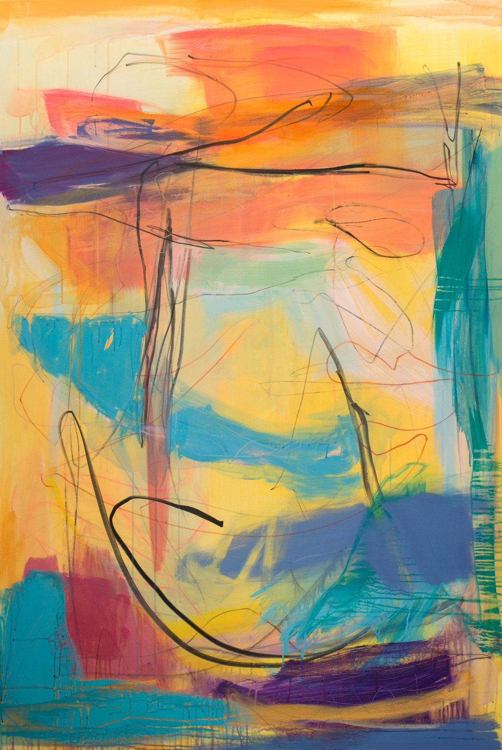 'Gunwalloe' (180x120cm) £3,250.00.Visit the  shop  on our website to purchase.