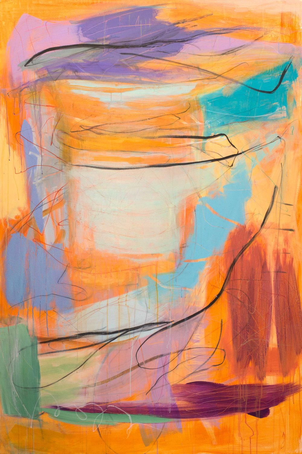 'Seworgan' (180x120cm) £3,450.00.Visit the  shop  on our website to purchase.