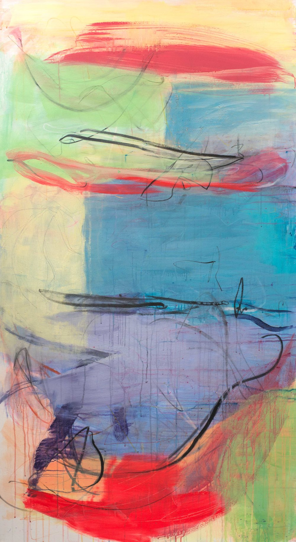 'Zennor' (202x110cm) £3,250.00. Visit the  shop  on our website to purchase.