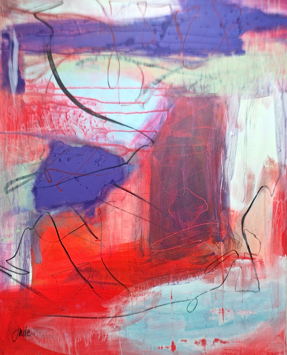 'Stithians' (100x80cm) £1,500.00. Visit the  shop  on our website to purchase.