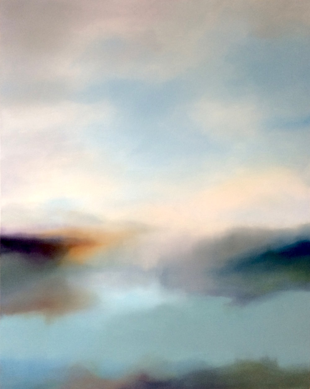 'Soft Waters' (100x80cm) £2,800.00.Visit the  shop  on our website to purchase.