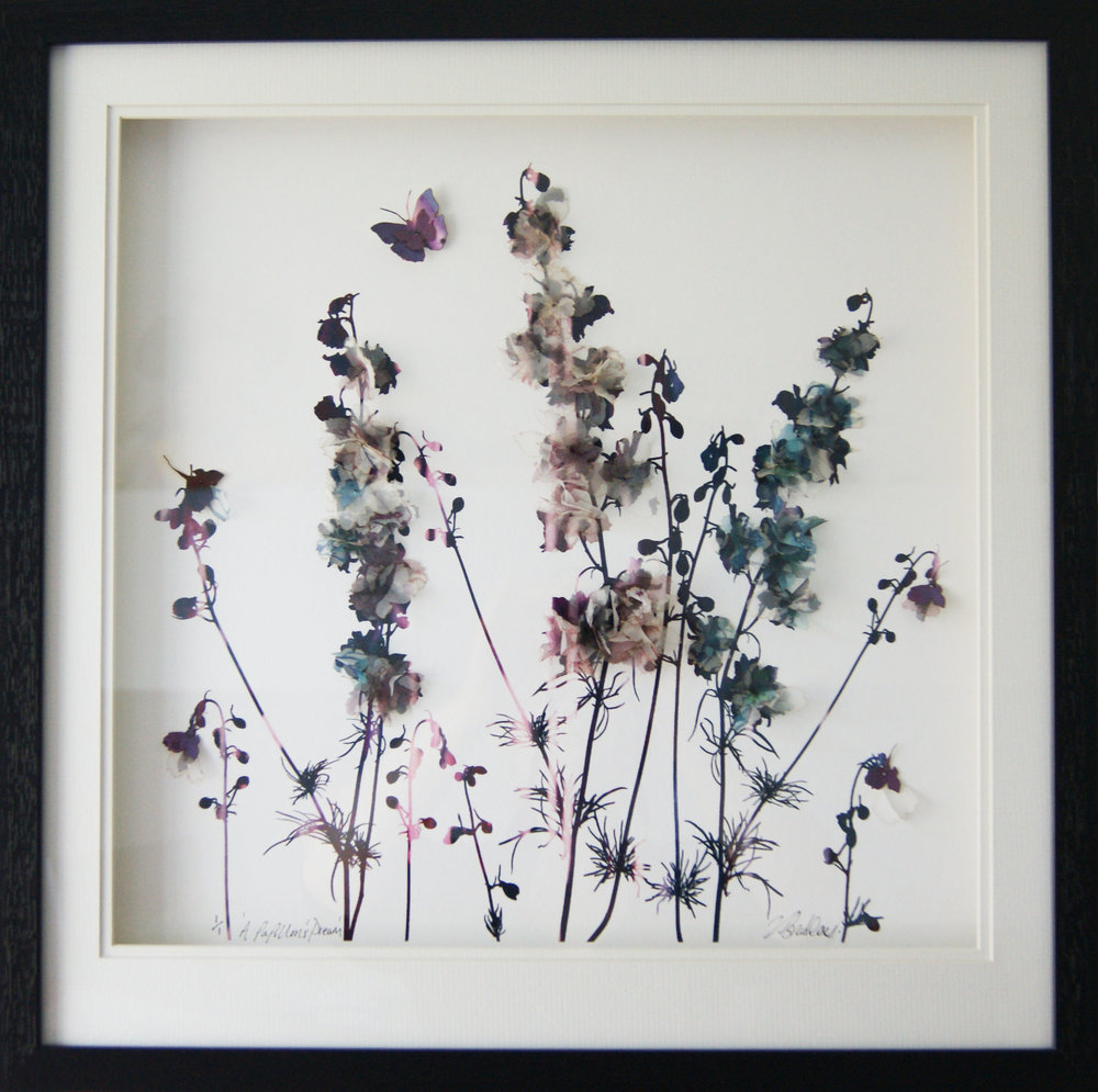 'A Papillion Dream' (45x45cm) £180.00. Visit the website on our  shop  to purchase.