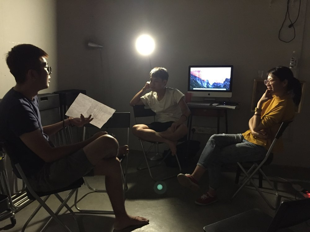 """""""Discussing with other young filmmaker, brainstorming and sharing ideas is always exciting. You know you will never be alone."""" -  Hanloong Lim"""