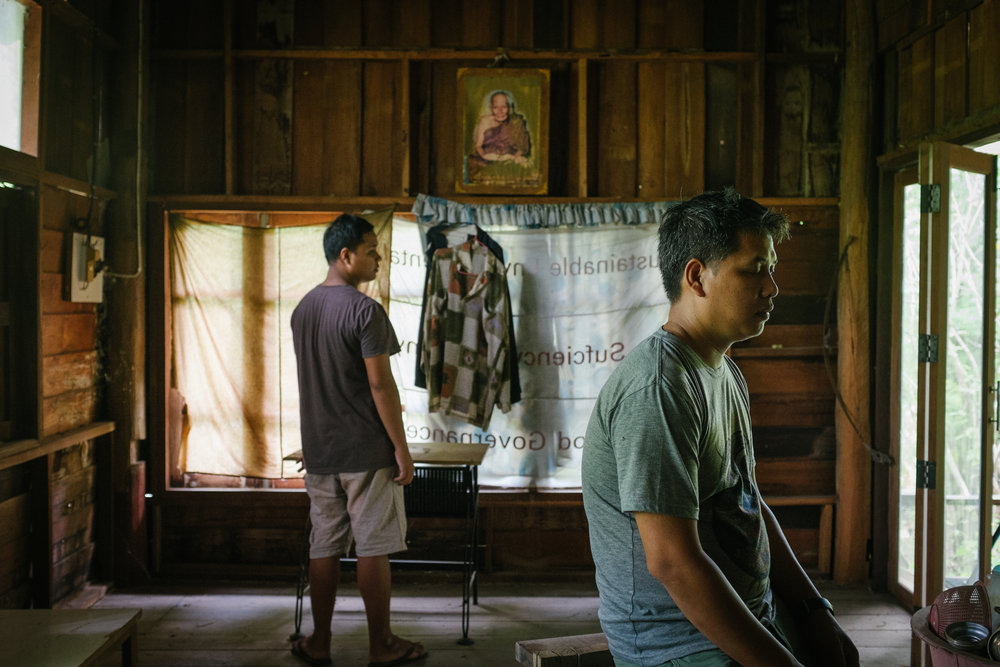 Pimpaka Towira / Thailand / 2017 / 5mins  In an unidentified place, Preecha was talking to his brother 'Hta' as usual. Yet a moment later Preecha realized that Pa-U, another brother who had recently dead, just came back to bid farewell.