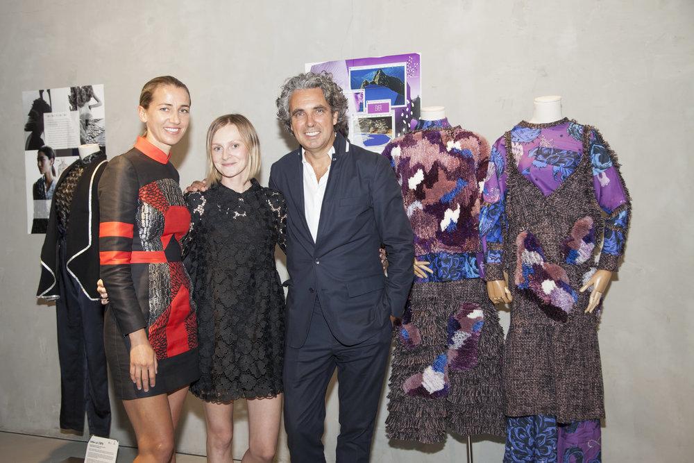 Christina Dean, Patrycja Guzik and Raphael le Masne de Chermont.jpg