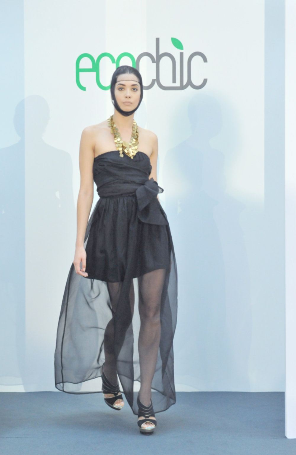 5. Lara Miller black organza silk dress with inner slip layer (bamboo:organic cotton) and MADE necklace (fair trade).jpg