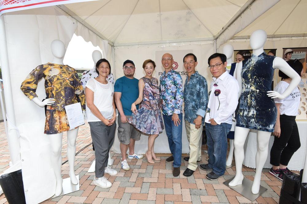 Kay Liu, David Lee and guests