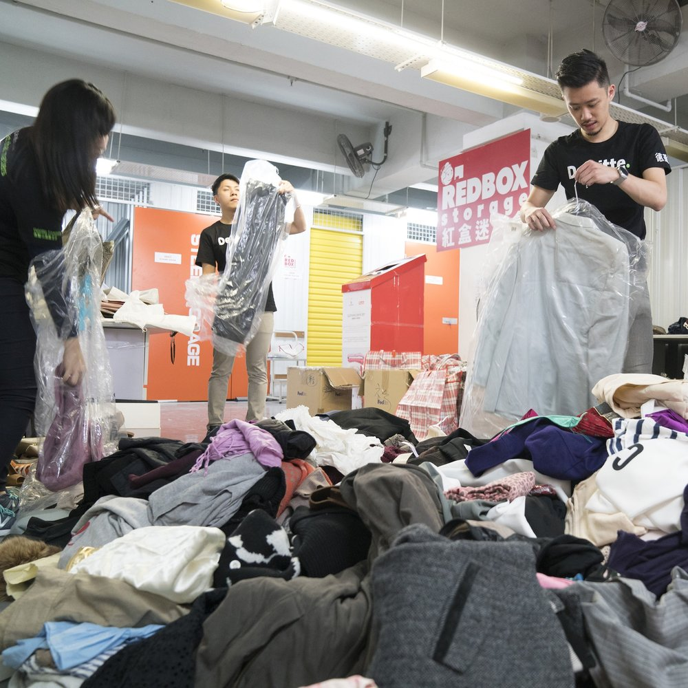 JOIN OUR OCTOBER CLOTHING DRIVE