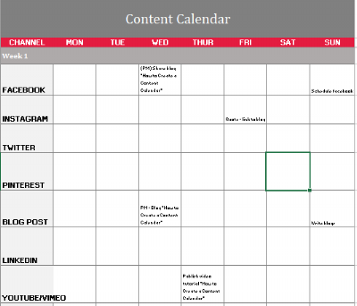 How To Create Your Own Content Plan Craft My Content Brisbane