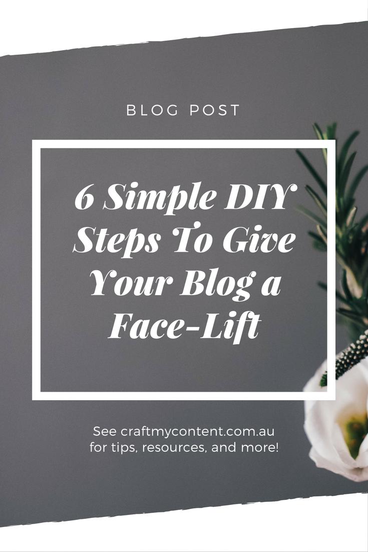 6 DIY Steps to Enhance Your Blog