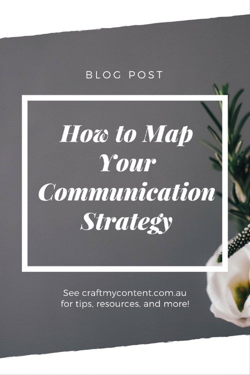 How to Map Out Your Communication Strategy