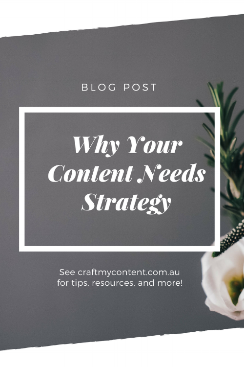 Why your content needs strategy